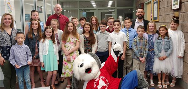 54th Annual Elementary - Middle School Physical Education Awards Winners