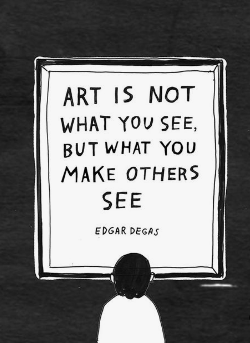 Art Is Not What You See...