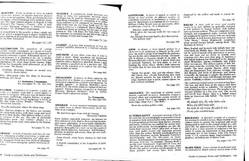Dunn, Elizabeth / LiteraryTermsGlossaryPage1