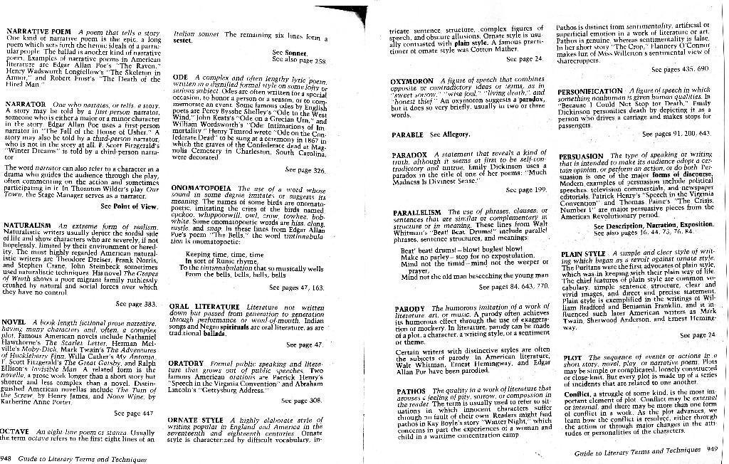Dunn, Elizabeth / LiteraryTermsGlossaryPage6