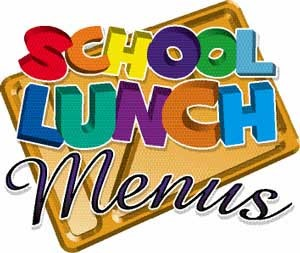 School Lunch Specials Clipart