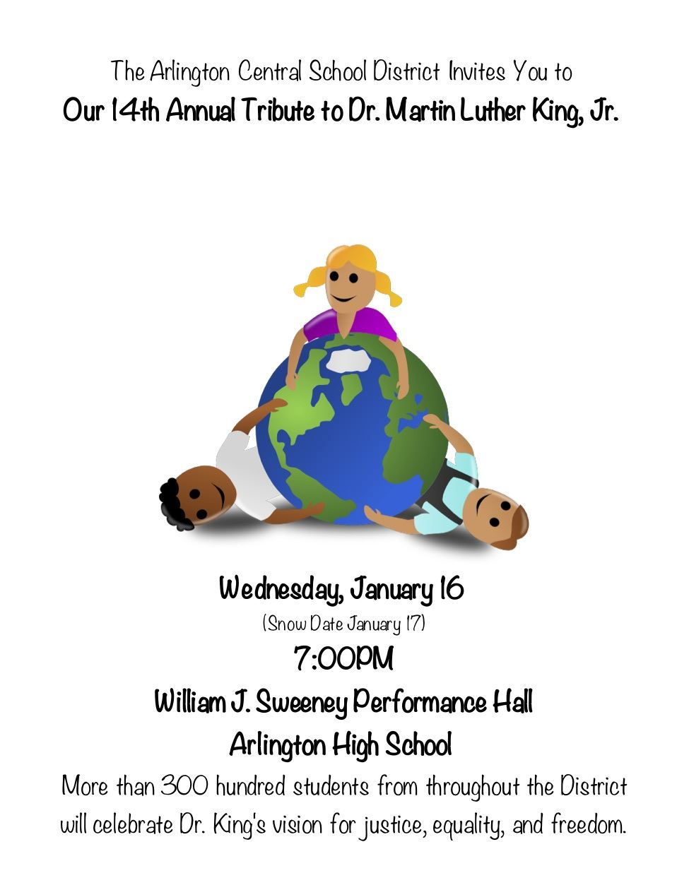 Our 14th Annual Tribute to Dr. Martin Luther King, Jr.