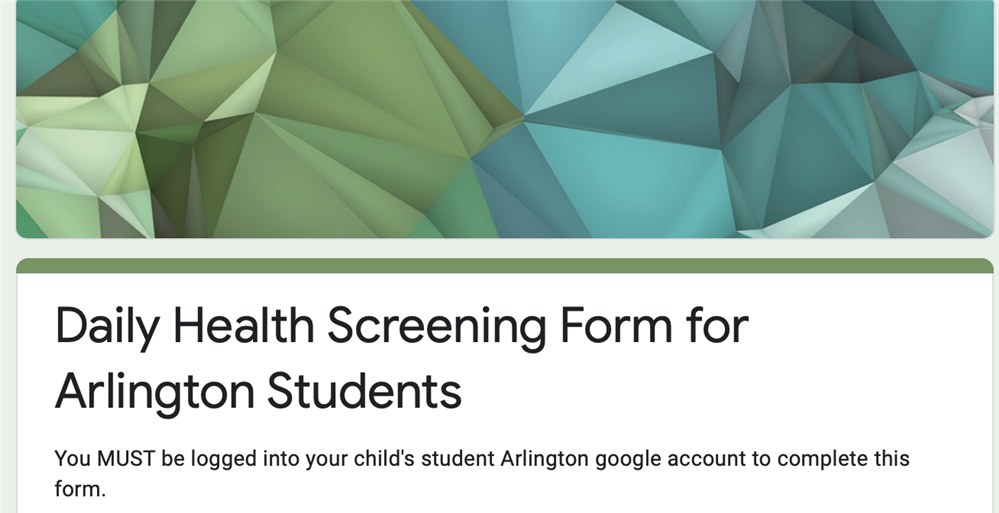 "Student Daily Health Screening-""How to video"""